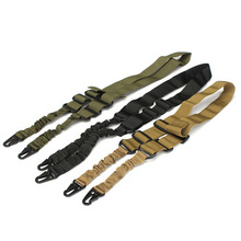 Army Green Black TAN Double Point Gun Sling For Wargame CS Equitment 2 Point Gun Rope Gun Accessories