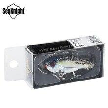 SeaKnight SK201 Metal VIB 7g 42.5mm / 10g 49mm 10Pcs Fishing Lure Sinking Vibration with VMC Hooks Fishing Baits Carp Fishing
