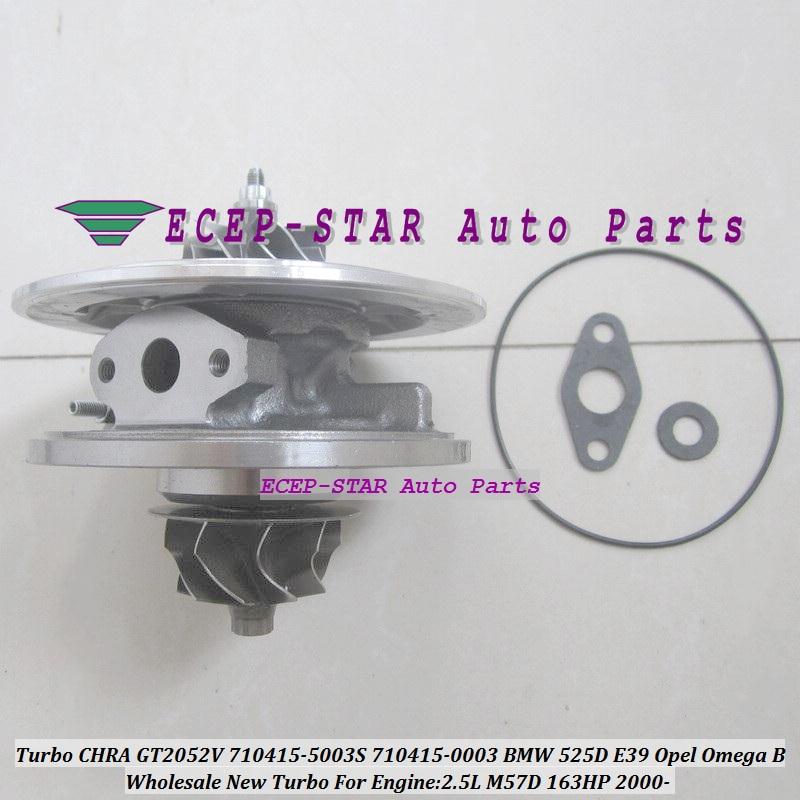 GT2052V 710415-5003S 710415 Turbo CHRA Cartuș turbocompresor pentru - Piese auto - Fotografie 5