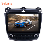 Seicane Car Radio 10.1 inch Android 8.1/7.1 Stereo For 2003 2004 2006 2007 Honda Accord 7 2Din GPS Head Unit Multimedia Player
