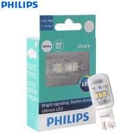 Philips Ultinon LED T16 W16W 12 V 11067ULWX1 6000 K Kühle Weiße Blinker Lampen Innen Licht Reverse Lampen (single)
