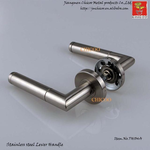 Modern Door Ironmongery Stainless Steel 304 Door Handles,gate Handles,industrial  Door Lever Handle