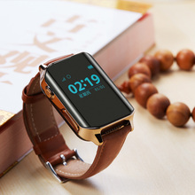 fashion Wearable leather band Child Smart watch with Answer Call call reminder passometer professional waterproof smartwatch