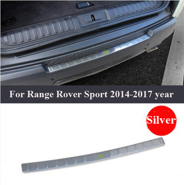 Stainless Steel Rear Bumper Protector Sill Trunk Guard Cover Trim 2013-2018