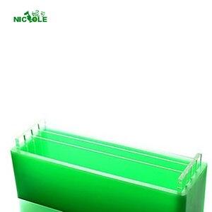 Image 5 - Molde Sabão Pão Silicone com Vertical e Transversalmente Divisórias para Artesanal Sabonetes Molde de Renderização