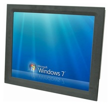 19 inch Industrial Panel PC, 1037U CPU,4GB DDR3 ,500GB HDD, 4*RS232, 4*USB, fanless all in one rugged tablet pc, 19″ HMI