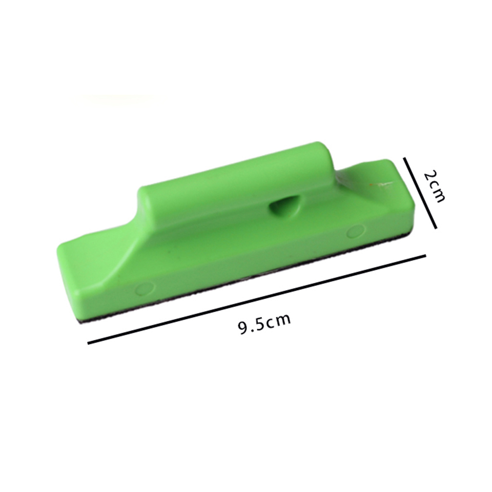 Green Auto Vinyl Wrap Strip Stud Magnet Holder felt squeegee magnetic holder Graphics Positioining Sign Making Vinyl Tool MO 211-in Car Stickers from Automobiles & Motorcycles