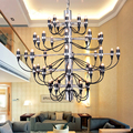Gino Sarfatti Chandeliers Art Deco Modern Lighting Hanglamp E14 Lustre Led Chandelier Light Pendientes Lampadari Moderni Avize