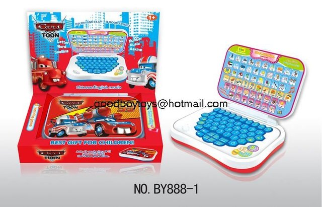 Intelligence ology kids Arabic/English learning machine for children with free shiping BY888-1my wonderful car