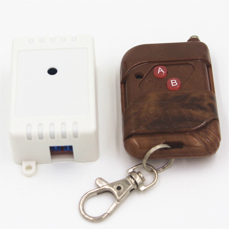 433Mhz Universal Wireless Remote Control Switch DC 5V 10A 1CH relay Receiver Module and RF Transmitter Remote Controls