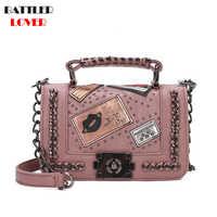 Bolsos de lujo para mujer, bolsos de diseñador, Bolso con solapa, bolsos de hombro de marca para mujer