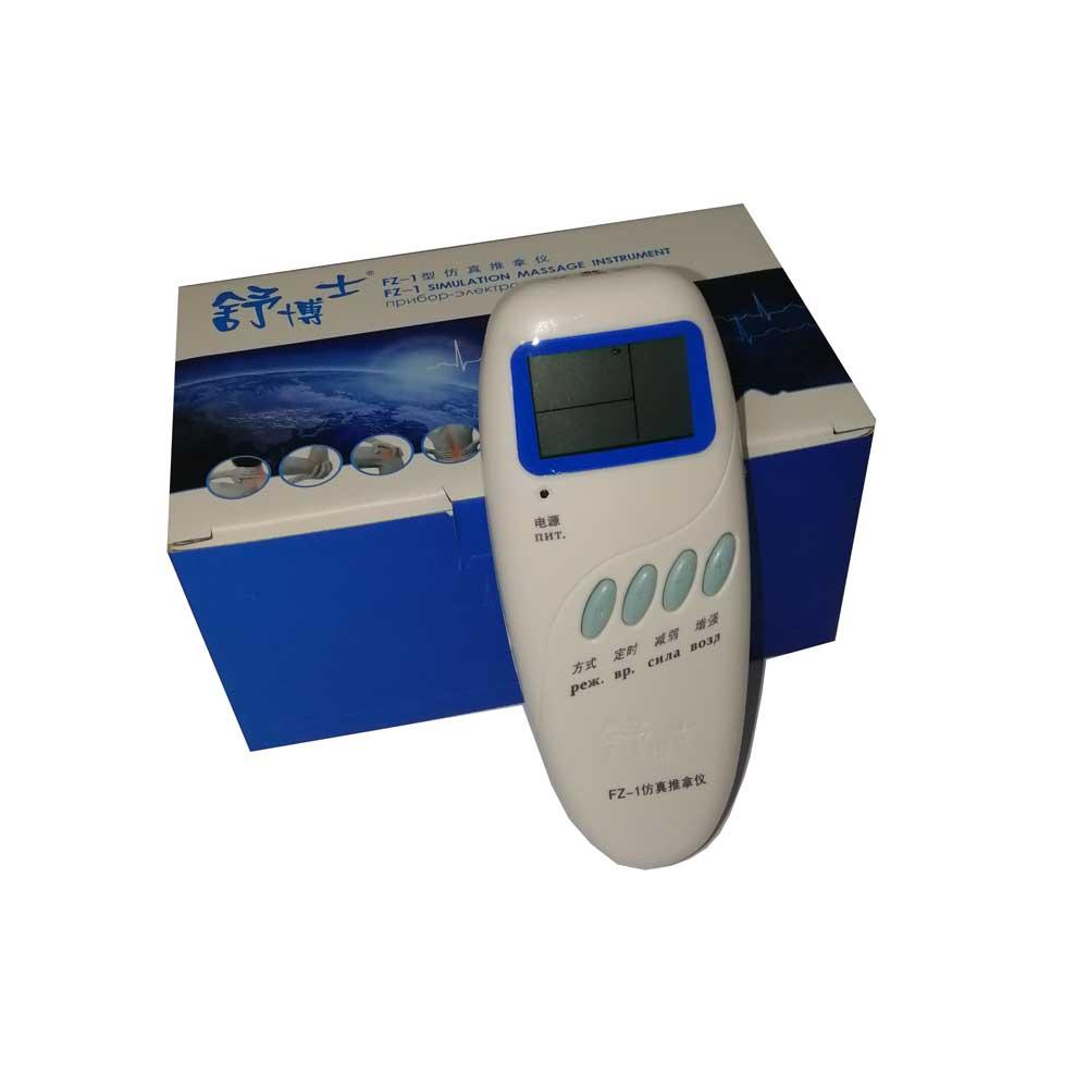 Dispositivo de terapia de masaje eléctrico de acupuntura CE jingshu dr FZ 1 lcd cervical spine ralax masajeador de salud Idioma Ruso-in Masaje y relajación from Belleza y salud    1