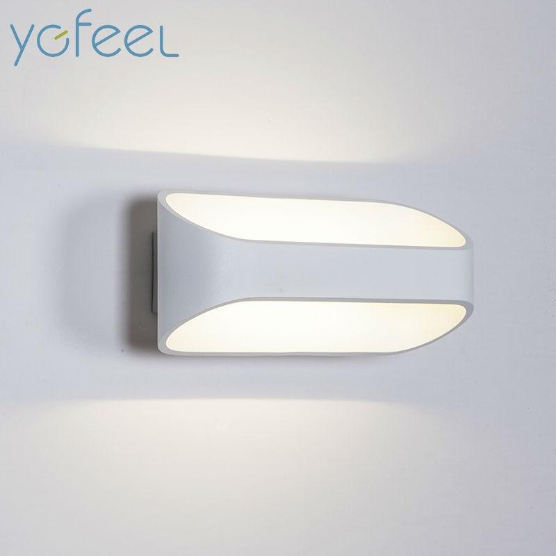 Ygfeel 5w 10w Led Wall Lamps Modern European Style Foyer Living Room Bedroom Lamp Corridor Bedside Reading Lighting Ac90 260v