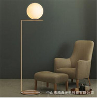 Art decor 3D round ball AJ floor lamp E27 led creative floor lighting for living room A59