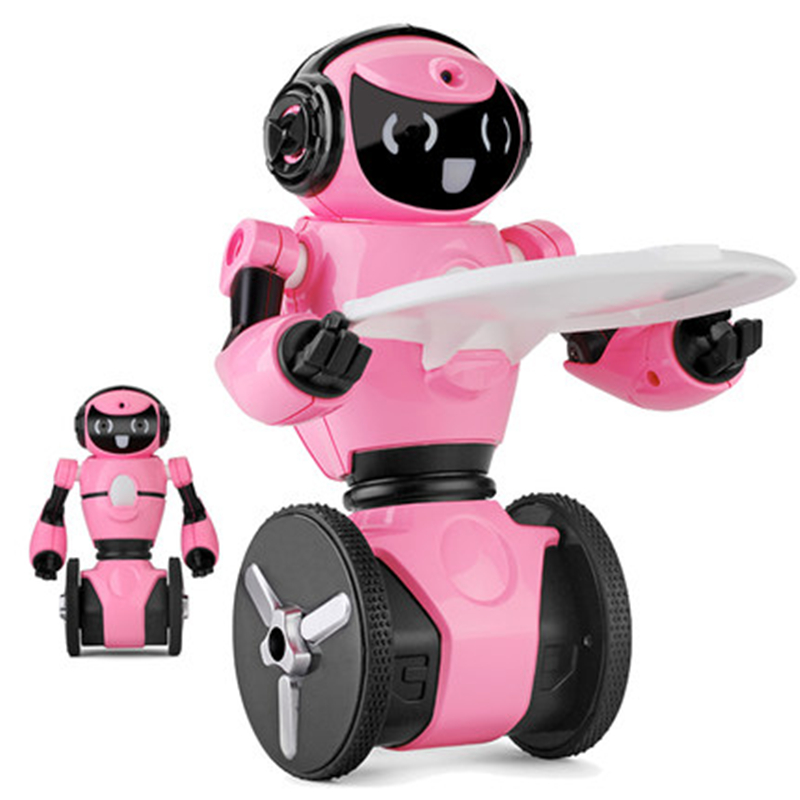 Intelligent Robot Remote Control Balance Dance RC robots WIFI Camera Real-time Transmission Automatic Obstacle mini RC Robot toy wl f1 2 4ghz radio control electric intelligent balance g sensor rc battle robot