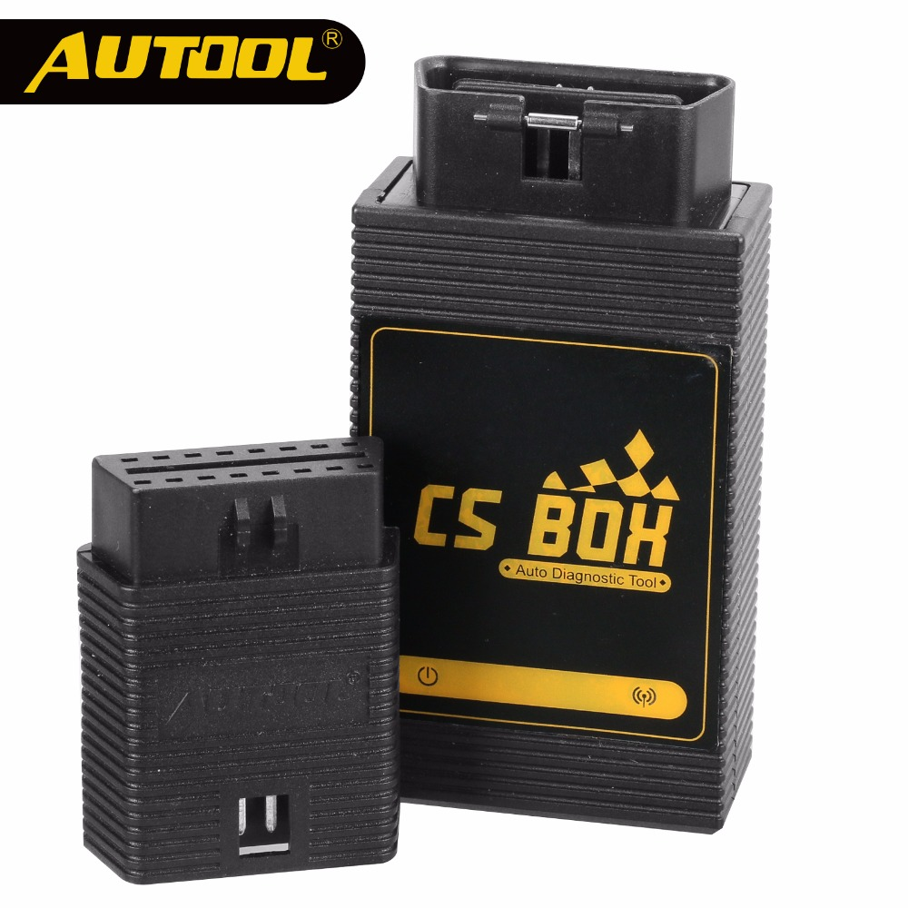 AUTOOL CS BOX OBDII Diagnostic Tool Multi System WiFi ETC Airbag ABS Key Coding For Android Tablet Brand Launch Easy Diag Mdiag