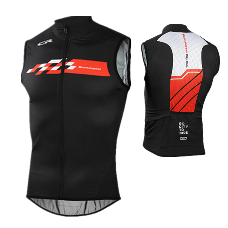 2018 New Reflective Cycling Vests Sleeveless Breathable Cycling Jacket MTB Road Bike Bicycle Jersey Top Cycle Clothing Wind Coat
