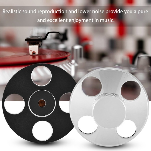 US $23 39 19% OFF|High End Copper LP Turntables Metal Disc Stabilizer LP  STABILIZER Record Weight/Clamp 325g For Vinyl Record Turntable Player-in