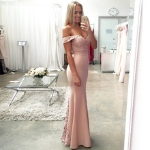 INDRESSME Sexy Off Shoulder Strapless Lace Women Party Dress Elegant Solid Pleated Floor Length Women Dress Vestidos 2018 New