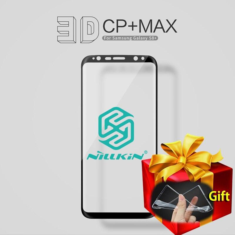 imágenes para Nillkin CP + Max 0.3mm 9 H Vidrio Templado de La Cubierta Completa 3D Para Samsung Galaxy Protector de Pantalla para Samsung S8 S8 Más G955F G955FD +