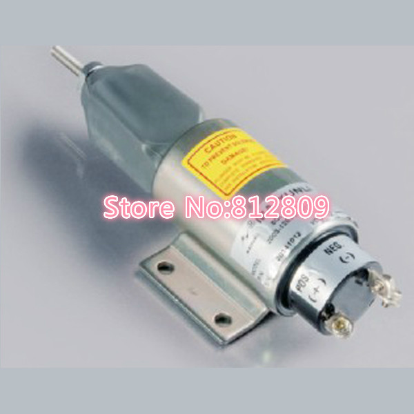 New Fuel Shut Off Solenoid Valve 2003-12E3U1B1S1A ,12V fuel shut off solenoid valve coil 3964624 fits excavator engine