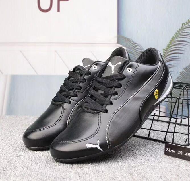 FENTY X PUMA Men Women Running Shoes Full Leather Racing Shoes Drift Cat Sneaker Low top Moto Inspired Sneaker Eur Size 37 45