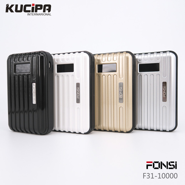 Original fonsi universal real 7500 mah banco de la energía de emergencia batería de reserva externa del cargador de batería para xiaomi iphone 6 s s7 edge