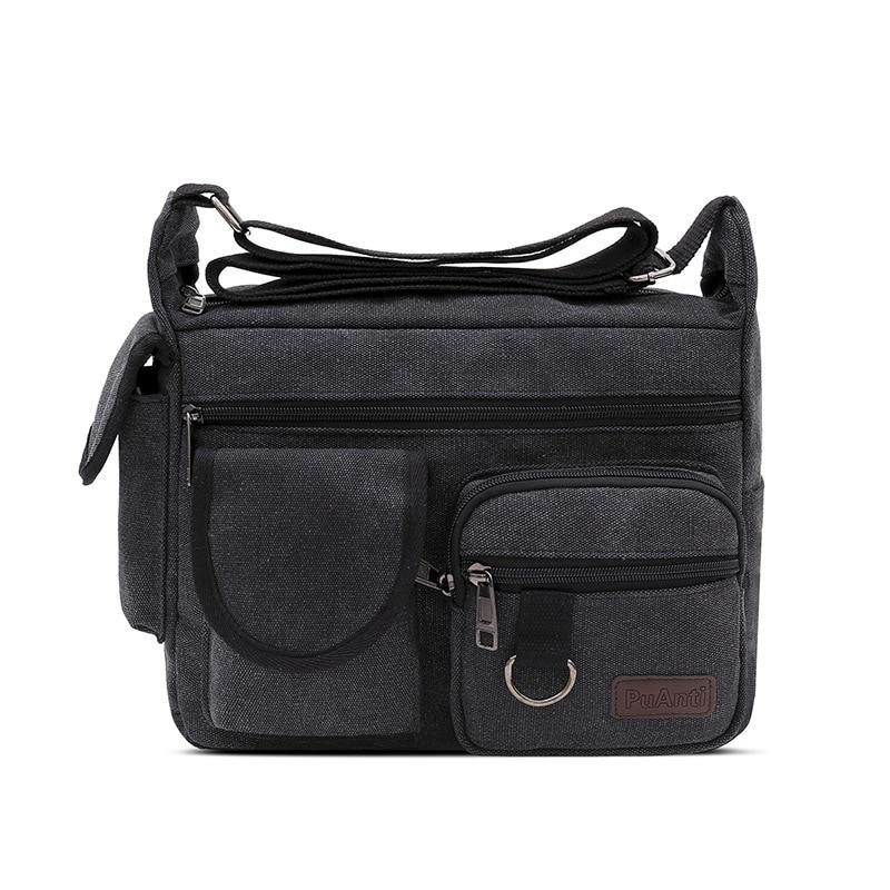 Große-kapazität Mode Männer Und Frauen Schulter Taschen Liebhaber Arbeit Zu Gehen Und Einkaufen Gehen Mit Licht Wasserdicht Leinwand Taschen