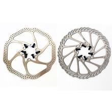 6 Bolts 160/180MM MTB Road Bike Brake Disc Rotors Hydraulic Mechnical Mountain Bicycle Disc Brake Rotor цена