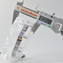 المثمن وحدة معالجة خارجية للحاسوب مياه التبريد الخزان ، المثمن خزان المياه ، هالة اللوحة 5 فولت رأس الضوء ، الاكريليك خزان واضح ، 100 مللي ، G1/4