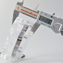 Réservoir de refroidissement par eau octogone coque dordinateur, réservoir deau octogone, carte mère AURA 5v en tête de lumière, réservoir transparent acrylique, 100 ML, G1/4