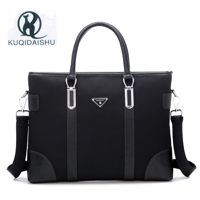 KUQIDAISHU Luxury Men's Handbag Briefcase Oxford Cloth Men Bag Business Briefcase Men Laptop Bag Men Shoulder Bags Messenger Bag