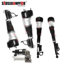 StOSSDaMPFeR 5 шт. воздушный компрессор задняя воздушная пружина Передняя воздушная поездка Fit Mercedes-Benz W221 2213209313 2213205613 (5513) 2213201604