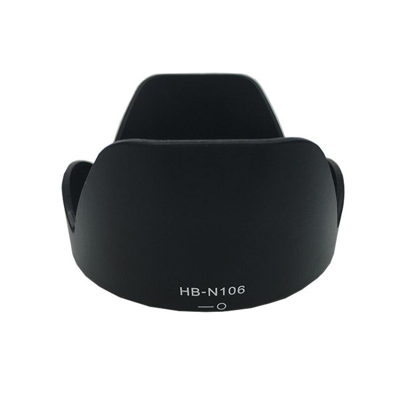 10pcs/lot HB N106 HB-N106 Camera Bayonet petal Lens Hood Reversible suit for nik&n D3300 AF-P DX 18-55mm f/3.5-5.6G VR Lens SLR
