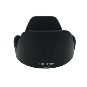 Image 1 - 10 шт./лот HB N106 HB N106 камера байонетная лепестковая бленда объектива Реверсивный костюм для nik & n D3300 AF P DX 18 55 мм f/3,5 5,6G VR объектив SLR