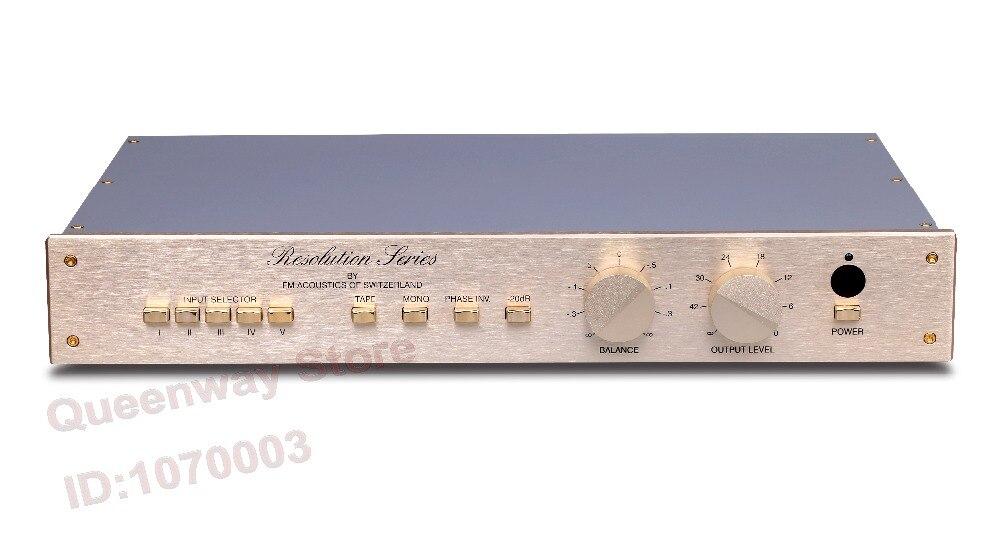 M-005 Queenway Copy/Study Switzerland FM255 pre-amplifier Preamplifier Pre AMP Preamp Pre-amplifier Pre Amplifier remote control