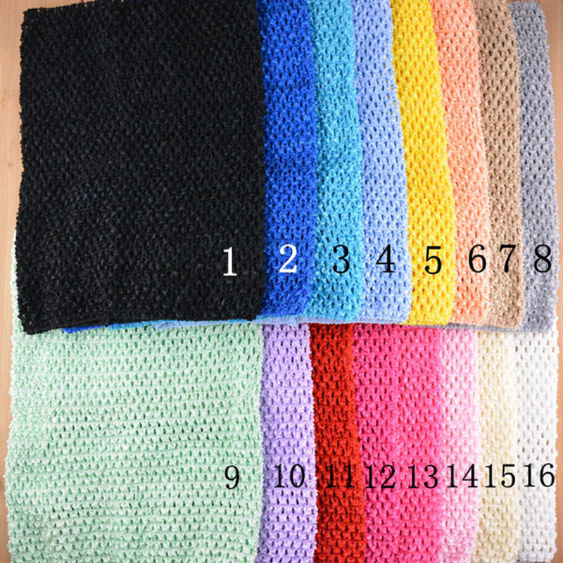 6bc53e34e7 Online Shop Adorable Candy Color 12 inch Girls Stretchy Crochet Tube Top  Tutu Tops For Kids Pettiskirt Photo Props HB130