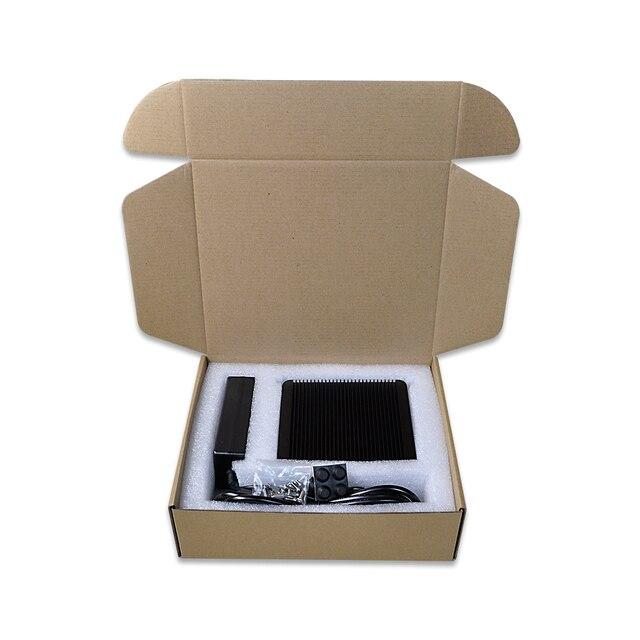 4 * Gigabit Ethernet RJ-45 Lan порты Мини ПК роутеры i5 i7 безопасности AES-NI безвентиляторный Qotom Pfsense межсетевой экран 5