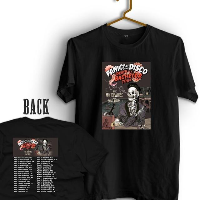 Tee Shirt Design Regular Panic At The Disco Death Of A Bachelor Tour