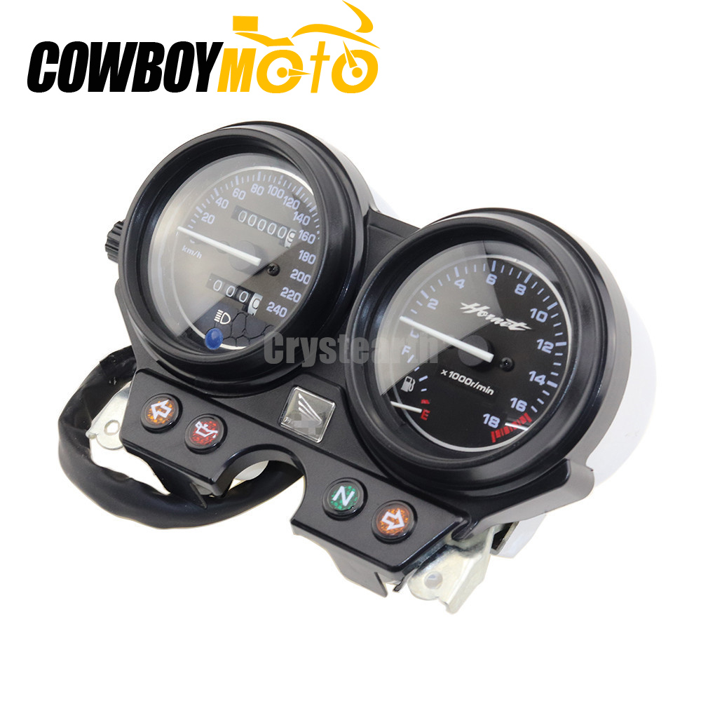 Motorcycle Gauges Cluster Speedometer Tachometer Instrument For Honda CB600 Hornet 600 2000-2006 2001 2002 2003 2004 2005 for honda cb600f hornet cb600 aluminum motorcycle water cooling radiator 1998 1999 2000 2001 2002 2003 2004 2005 2006