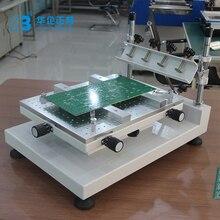 מפעל ישיר נמוך מחיר קטן 300*400MM PCB מסך הדפסת מכונה SMT סטנסיל הלחמה להדביק מדפסת מכונה