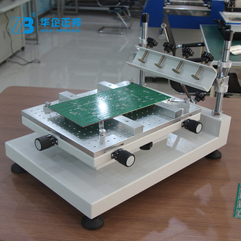 Factory Direct Low Price Small 300*400MM PCB Screen Printing Machine SMT Stencil Solder Paste Printer Machine manual flatbed screen printer machine price flat screen print manual screen printer hand screen printing machine