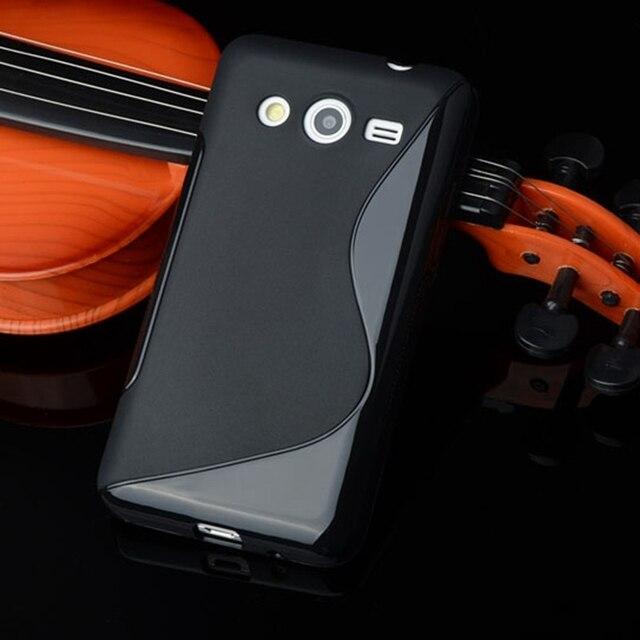 S Line Gel Silicon Soft TPU Voor SAMSUNG Galaxy Star Advance G350E galaxy star 2 plus Mobiele Telefoon Achterkant Beschermende tas