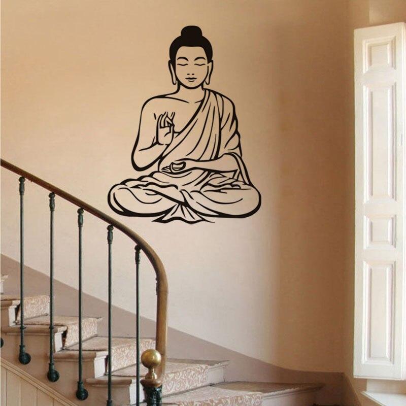Meditating Buddha Wall Sticker 3