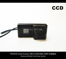 car camera!! Car Rear View Parking CCD Camera For TOYOTA Land Cruiser 200 LC200 REIZ 2009