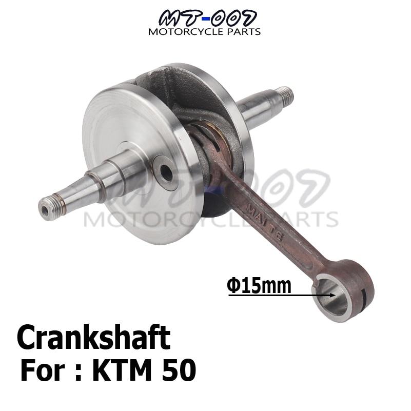 Motorcycle Crankshaft For 50 50CC SX engine water cooler Pro Junior Senior Parts