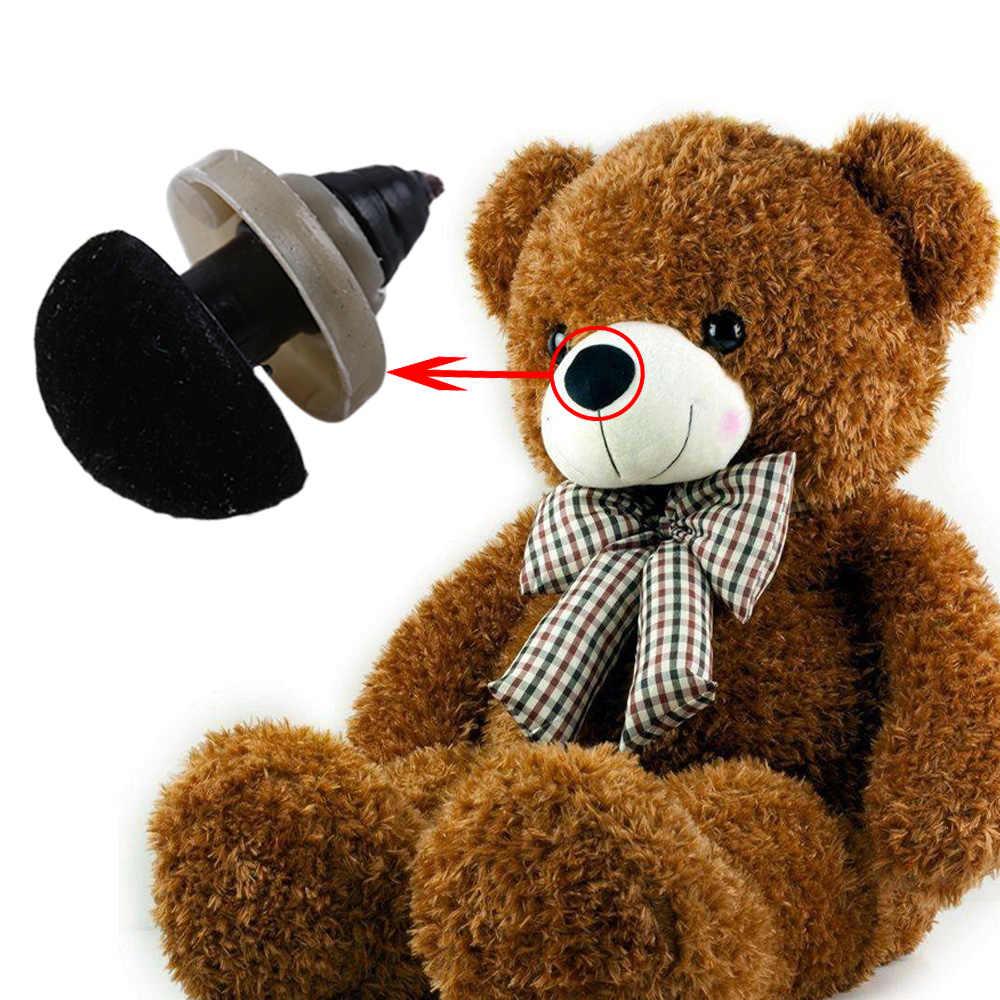 1/10 шт./пакет 12*14 мм Пластик Треугольники бархатный носик пуговицы «сделай сам» для игрушки в виде медведей ручной работы аксессуары накладной нос для игрушки куклы