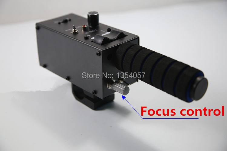 Pro lens controller with iris focus zoom controls for lens from FUJI or CANON for camera jib crane