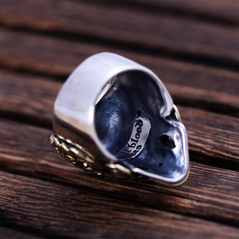 MetJakt-Punk-Rock-Domineering-Skull-Rings-Set-In-Red-Corundum-Solid-925-Sterling-Silver-Ring-for (3)