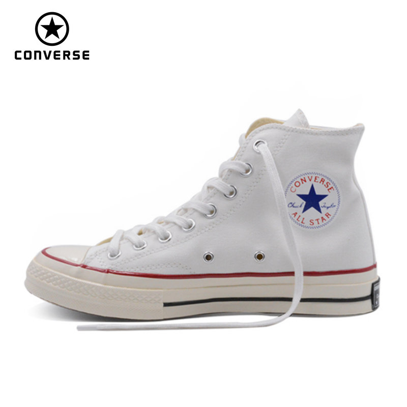 1970s Original Converse all star shoes spring and autumn shoes men women unisex sneakers high classic